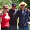 Jolie Clausen (drums) Whit (guitar, bass) and Alan back in PDX after a very successful weekend performance at KAH-NEE-TA